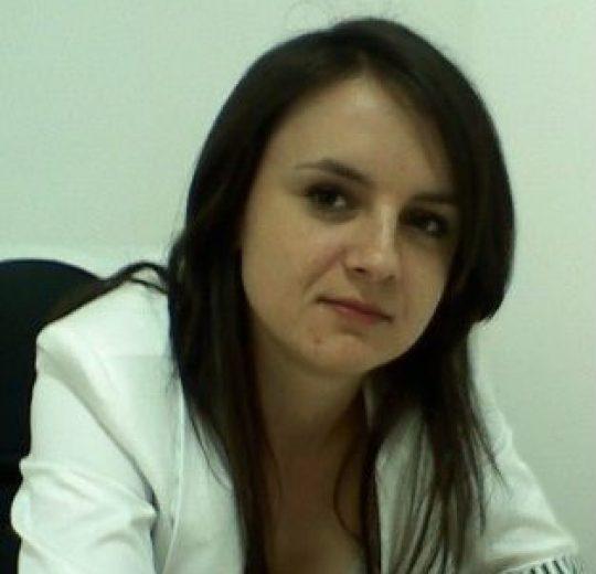 Șef lucrări dr. ing. Ancuţa Elena PRISACARU